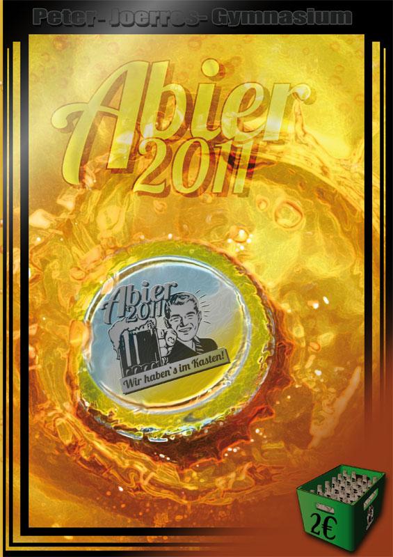 Titelbild der Abizeitung des PJG Bad Neuenahr Ahrweiler 2010/11
