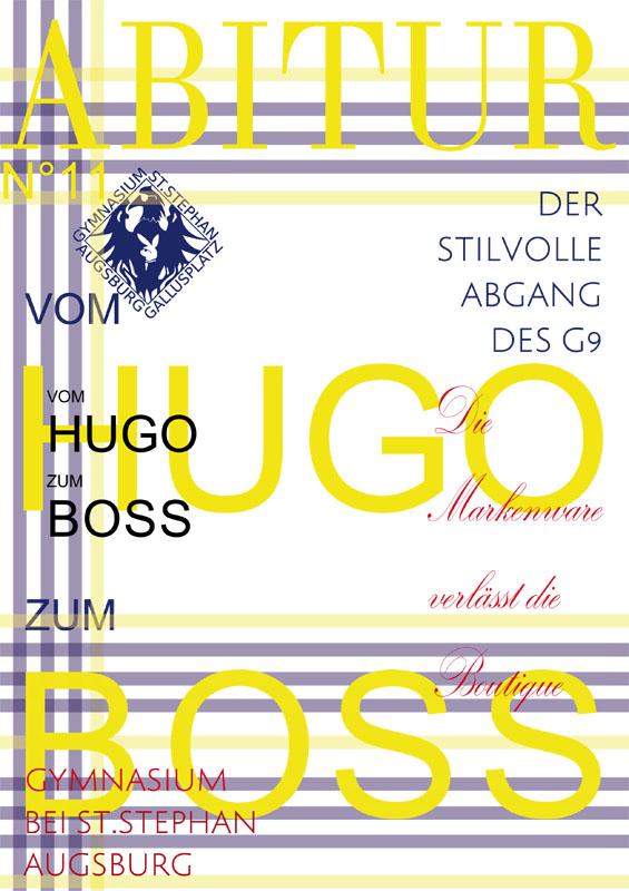 Titelbild der Abizeitung des GBSS Bobingen 2010/11