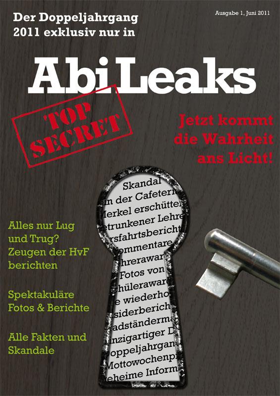 Titelbild der Abizeitung des HvFSB Braunschweig 2010/11