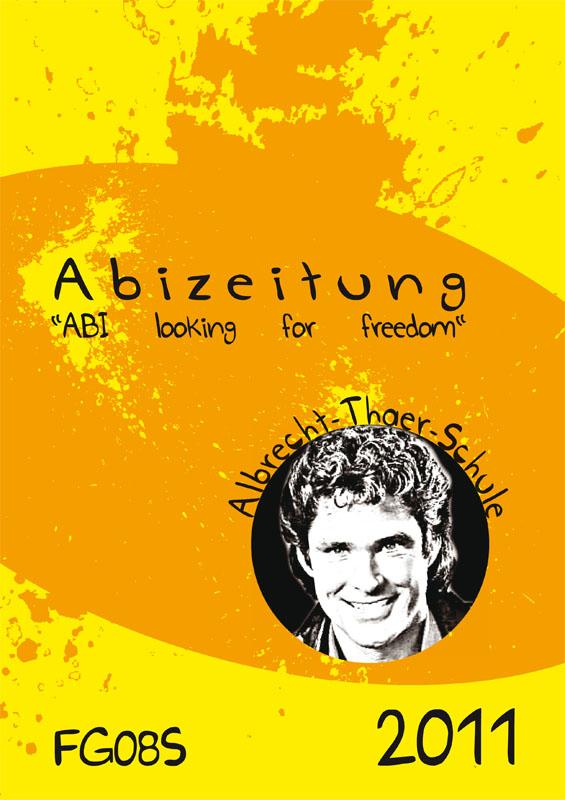 Titelbild der Abizeitung der ATS Celle 2010/11