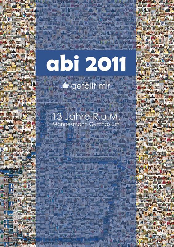 Titelbild der Abizeitung des RuMMG Duisburg 2010/11