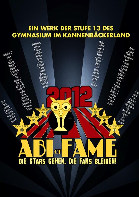 Abizeitung des Gymnasiums im Kannenbäckerland 2011/12