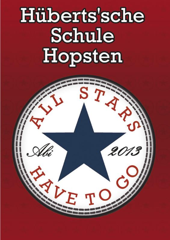 Abizeitung der Hüberts'sche Schule Hopsten 2012/13
