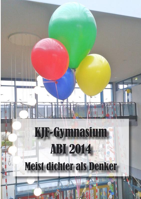 Abizeitung des KJF-Gymnasiums 2013/14