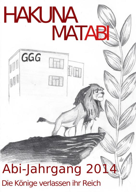 Abizeitung des GGG 2013/14