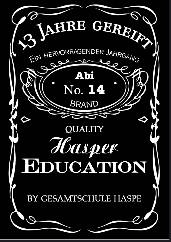 Abizeitung der Gesamtschule Haspe 2013/14