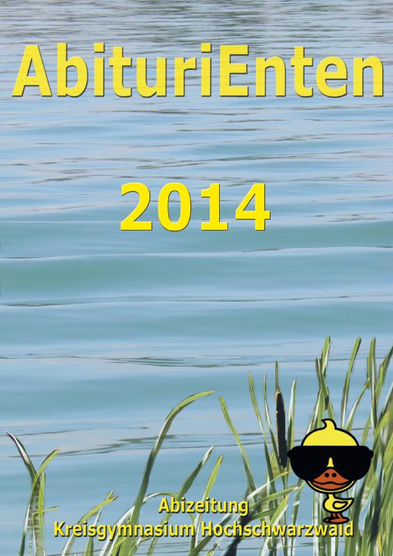 Abizeitung des Kreisgymnasium Hochschwarzwald 2013/14