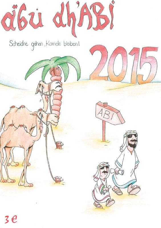 Titelbild Abizeitung 2015