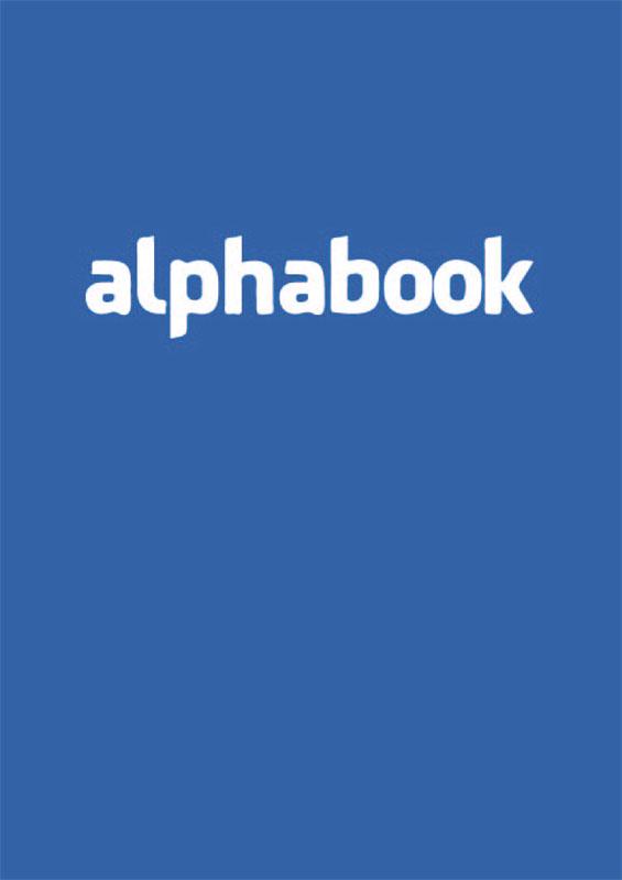 """Titelbild Abizeitung 2015 """"Facebook"""""""