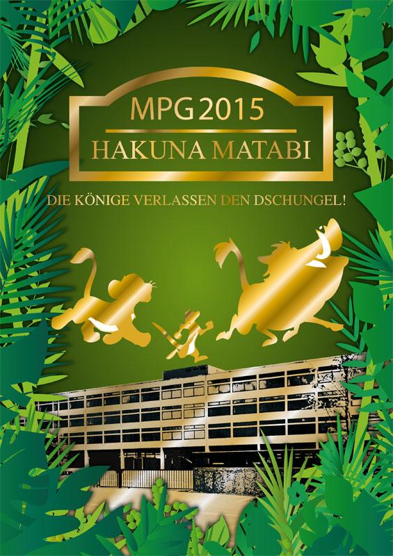 Titelbild Abizeitung MPG 2015