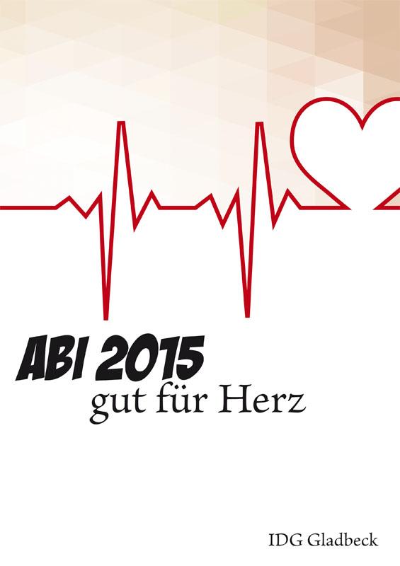 Titelbild Abizeitung 2015 IDG Gladbeck