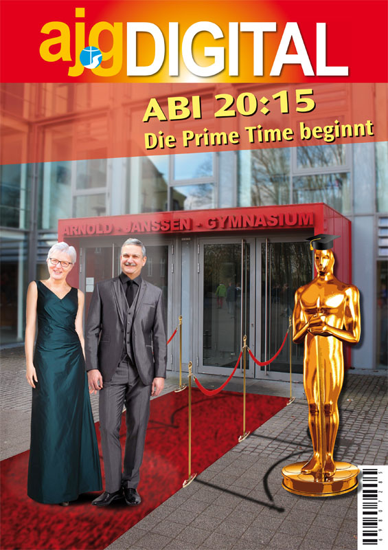 Titelbild Abizeitung 2015 Arnold-Jansen-Gymnasium