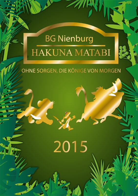 Titelbild Abizeitung 2015 BG Nienburg