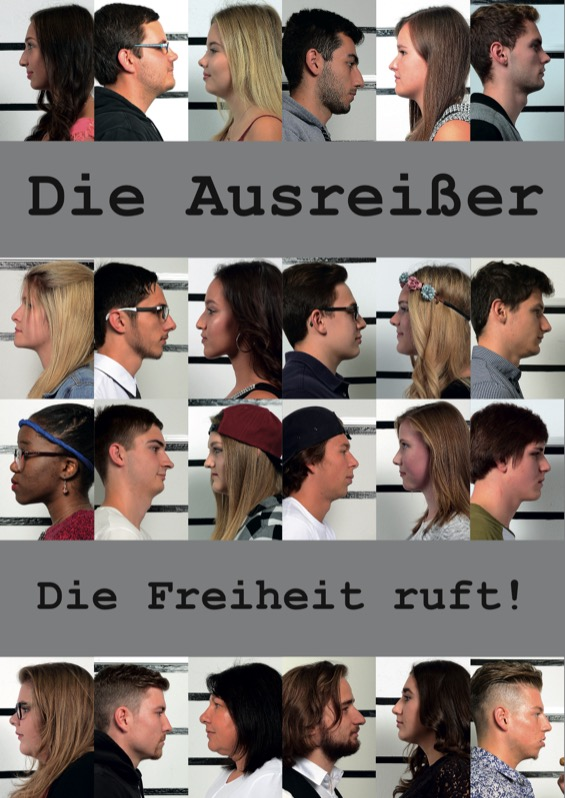 Titelbild der Maturazeitung 2015/16 HAK Feldkirch