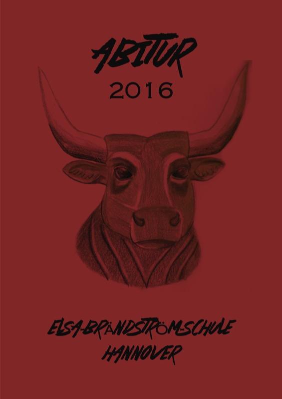 Titelbild der Abizeitung 2015/16 Elsa-Brändström-Schule Hannover