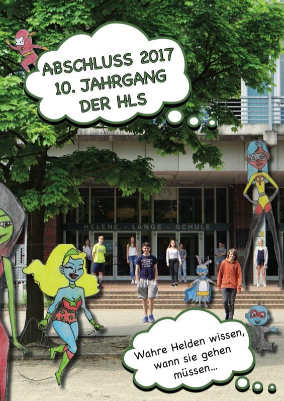 Titelbild der Abschlusszeitung 2016/17 Helene-Lange Schule