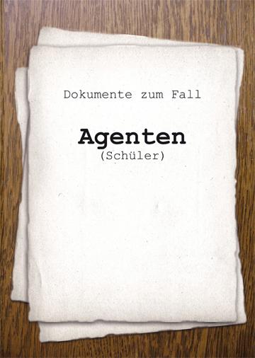 Gestaltungsvorlage Abizeitung Kapiteldeckblatt Die Fälle des A.B.I.