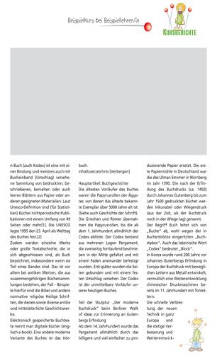 Gestaltungsvorlage Abizeitung Kursberichte ABIpunkTUR