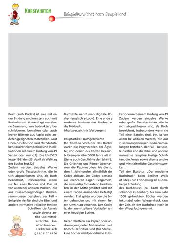 Gestaltungsvorlage Abizeitung Kursfahrten ABIpunkTUR