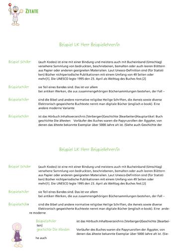 Gestaltungsvorlage Abizeitung Zitate ABIpunkTUR