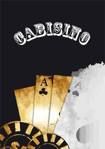 Gestaltungsvorlage Abizeitung Cover Cabisino