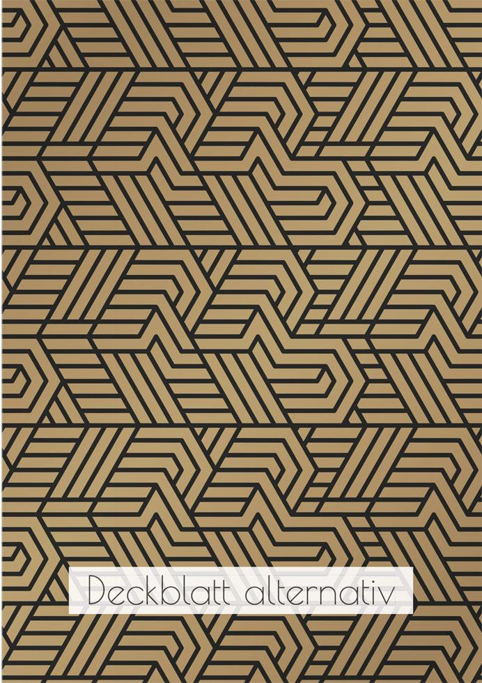 Layout Golden Twenties Kapitelblatt alternativ