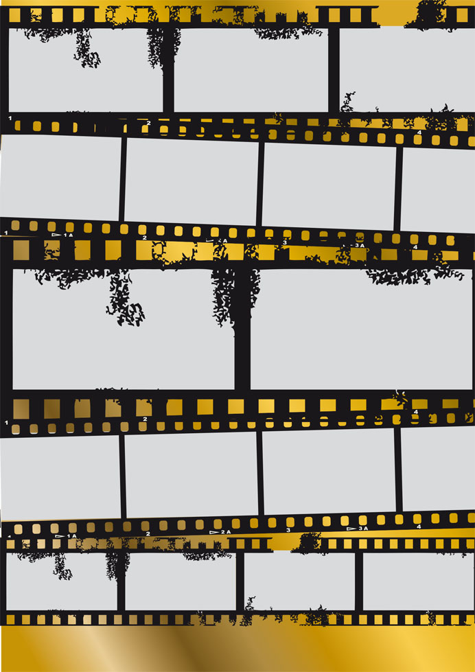 Layout Golden Twenties Foto Collage