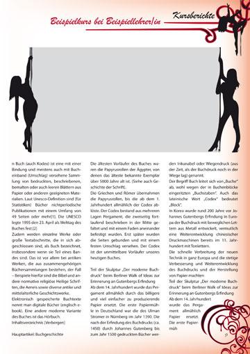 Gestaltungsvorlage Abizeitung Moulin Rouge - 13 Jahre im Rotstiftmilieu Kursberichte