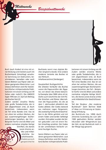 Gestaltungsvorlage Abizeitung Moulin Rouge - 13 Jahre im Rotstiftmilieu Mottowoche