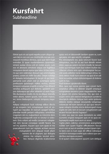 Gestaltungsvorlage Abizeitung Kursfahrten TherABI beendet