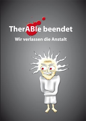 Gestaltungsvorlage Abizeitung Umschlag TherABI beendet